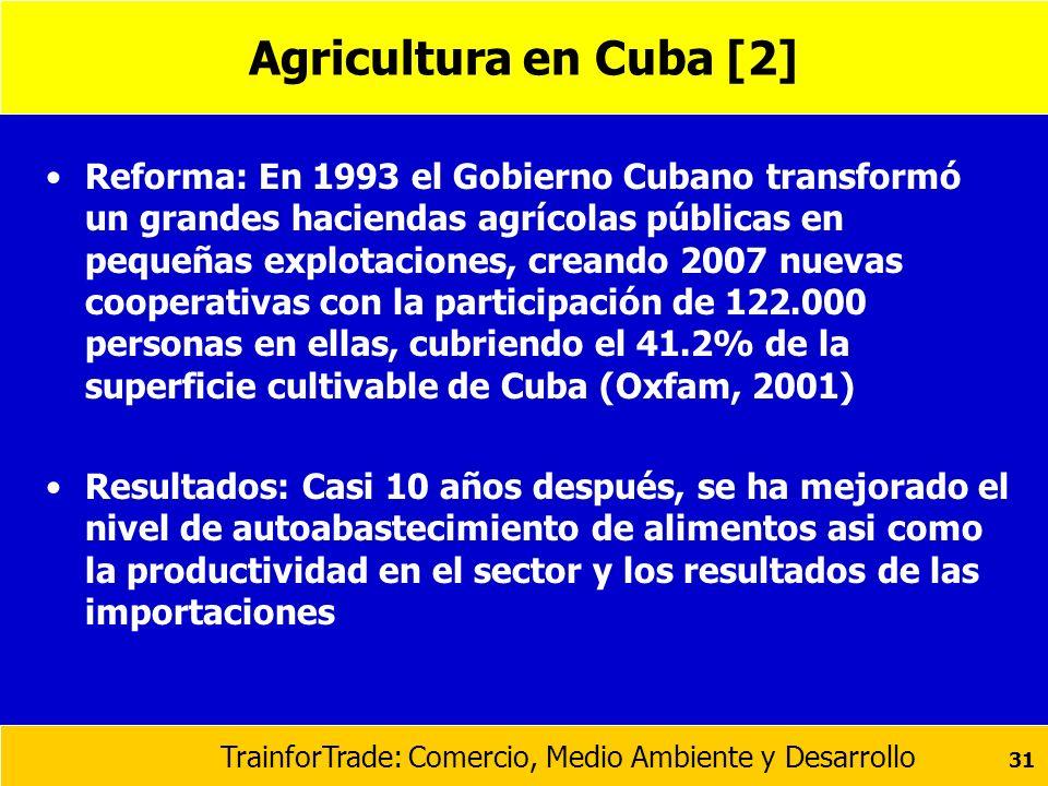 Agricultura en Cuba [2]